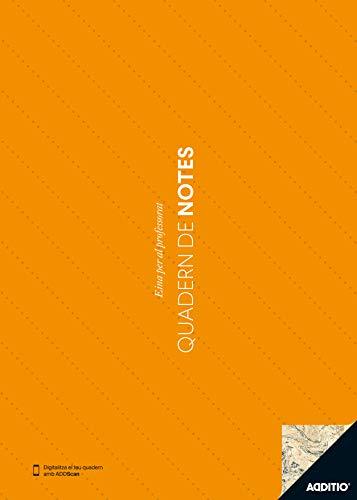 Additio P111 - Cuaderno de Notas A4 (catalán), color naranja