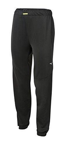 Mizuno Damen-Sporthose Alpha zum Laufen, Schwarz, Größe XS
