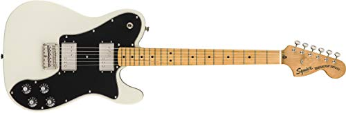 Squier by Fender Classic Vibe 70's Telecaster Deluxe Electric Guitar - Maple - Olympic White