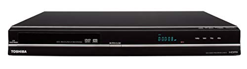 Toshiba DR570 DVD Recorder/Player - Black (2009 Model) (Renewed)