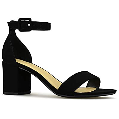 Premier Standard - Women's Ankle Strap Kitten Heel - Adorable Low Block Heel