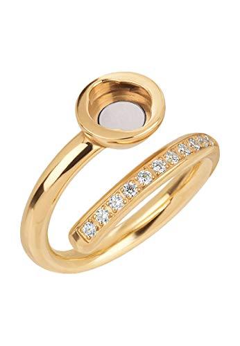BREIL Anillo mujer colección STONES con multiples piedras de crystal jewellery