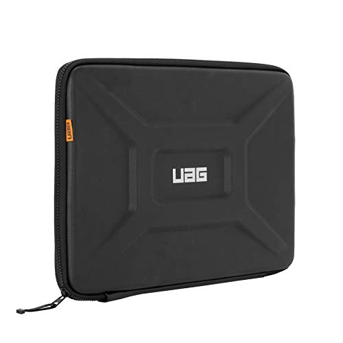 URBAN ARMOR GEAR UAG Large Sleeve for 15' Devices Black Rugged Tactile Grip Weatherproof Protective Slim Secure Laptop/Tablet Sleeve