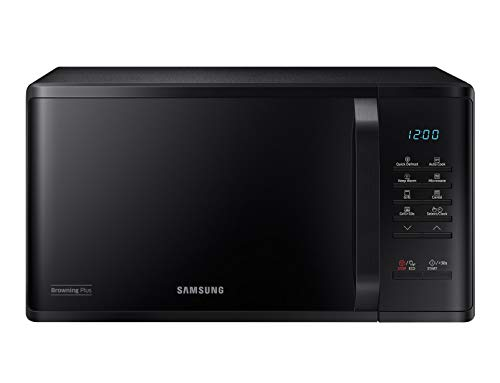 Samsung MG23K3513AK Encimera - Microondas (Encimera, Microondas combinado, 23 L, 800 W, Botones, Negro)