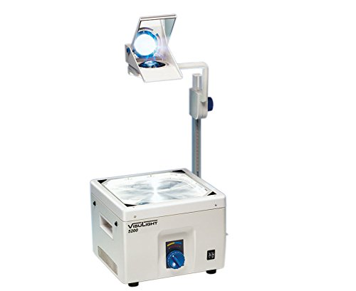 visulight–Overhead projecteur OHP 5200, 5200Lumens Brillantes, rétroprojecteur, lentille de 3éléments, de 36Volts/400Watts