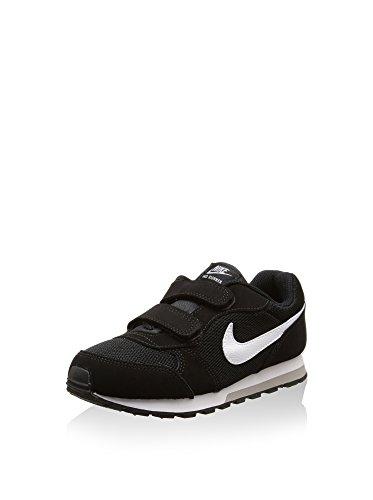 Nike MD Runner 2 (PSV), Zapatillas de Deporte para Mujer, Multicolor (Negro 000), 34 EU