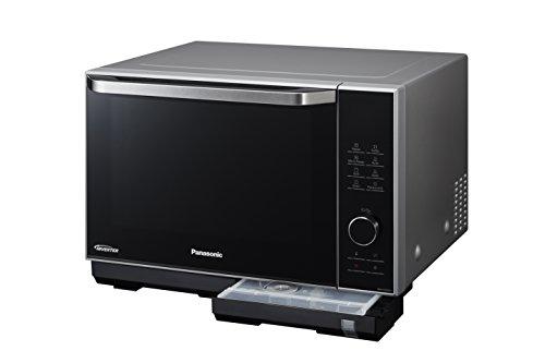 Panasonic NN-DS596MEPG Micro-ondes, 2010W, 27L, fonction cuisson vapeur, argent/noir
