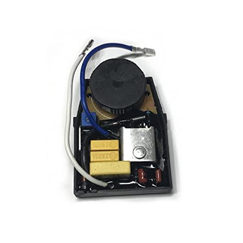 SDUIXCV Interruptor de regulador de Velocidad de 220 V-240 V para Bosch GWS6 GWS 6-100E 6-115E GWS6-100E GWS6-115E 1607233124 Amoladora Angular pequeña