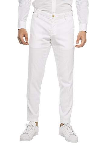 AT.P.CO - Uomo Pantalone Chino Bianco Slim A201SASA45 TC107/T 000 B - 31298-52
