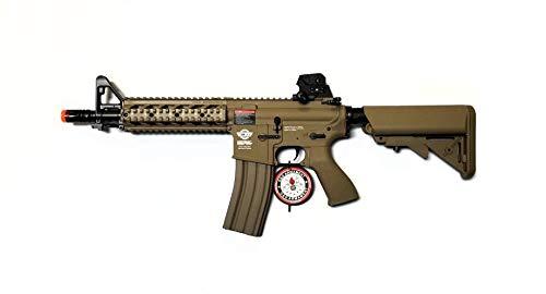 g&g cm16 raider combat machine short - tan(Airsoft Gun)