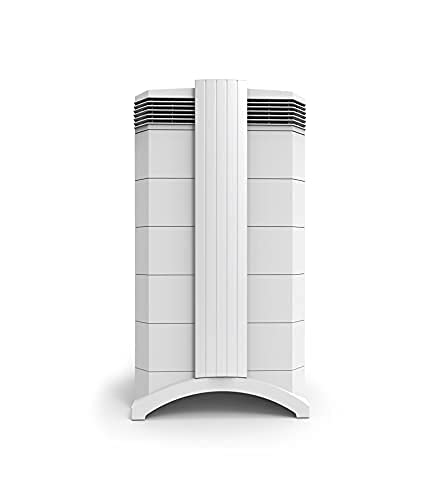 IQAir HealthPro Plus – Medical-Grade Air Purifier with H13 HyperHEPA Filter for Particles, Gases, & Odors – Bacteria, Viruses, Airborne Infections, Allergies, Pets, Asthma, Smoke, Pollen, Dust; Swiss Made, White