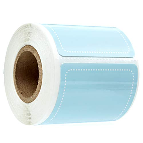 Sky Blue Write On Pantry Labels / 100 Reusable Storage Labels/Organization Labels/Water Resistant/Food & Spice Jar Labels for Pantry Organization