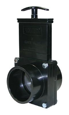 """Valterra 5303 ABS Gate Valve, Black, 3"""" Spig from Valterra Products"""