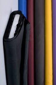 generique - CREADETEX.COM Tissu Doublure Polyester Fluide Noire Noir au Metre Largeur 150 cm