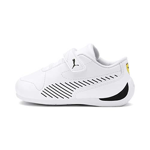 PUMA Ferrari Drift Cat 7S Ultra Kids Sneaker Puma White-Puma Black UK 12_Youth_FR 31