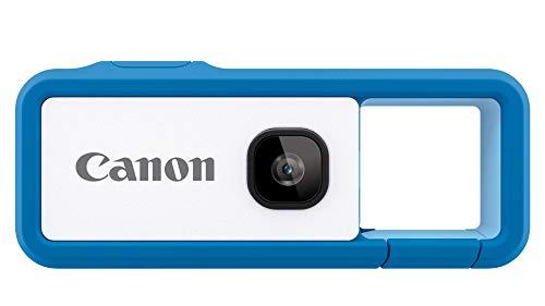 CanonカメラiNSPiCRECBLUEブルー(小型/防水/耐久)身につけるカメラFV-100BLUE