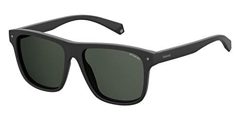 Polaroid Unisex-Erwachsene PLD 6041/S Sonnenbrille, Schwarz (Black), 56