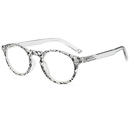 Gafas de lectura con bloqueo de luz azul – Lectores de computadora para hombres y mujeres, ligeras y modernas gafas de lectura con bisagra de resorte