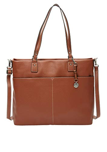 s.Oliver (Bags Damen 201.10.003.30.300.2037062, Shopper Tasche, 8765 Brown, one size