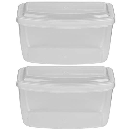Caja de gafas de natación PP Funda de gafas duraderas Simplicidad, para gafas de buceo y esnórquel(Transparent)
