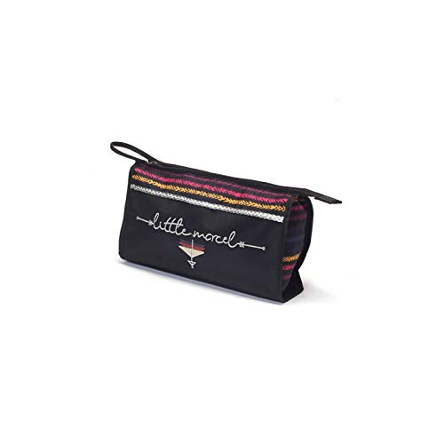 Little Marcel Trousse de toilette ethnique noir