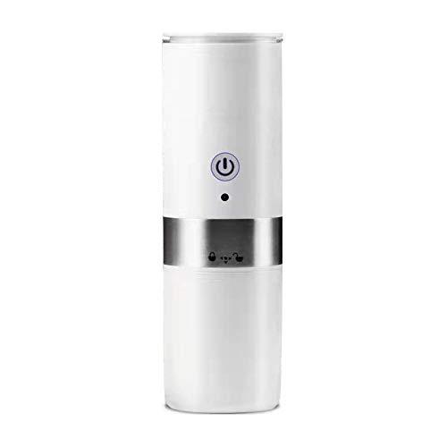 IQQI Draagbare espressomachine, kleine outdoor capsule instant travel koffiezetapparaat, eenknops reiniging, bediening, volledig automatisch koffiezetapparaat