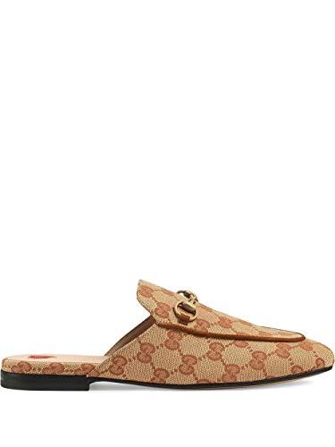 Gucci Luxury Fashion Damen 475094G17308369 Beige Polyester Mokassins | Frühling Sommer 20