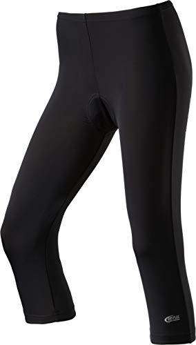 Nakamura 4031934001046 Pantacourt Femme, Noir, FR : XL (Taille Fabricant : 46)
