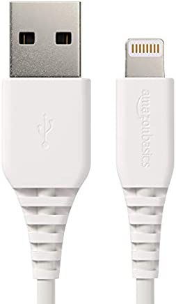 AmazonBasics Lightning to USB A Cable - MFi Certified...