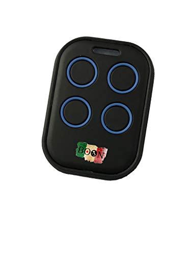 Telecomando Universale Autoapprendente per Cancelli automatici Garage 433mhz - fix code (BLU)