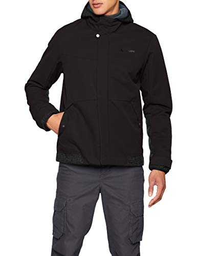 VAUDE Cyclist Padded Veste III Homme Veste Homme Phantom Black FR: XL (Taille Fabricant: XL)