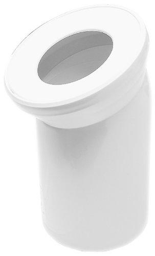 Sanitop-Wingenroth 21570 1 Anschlussbogen für Stand WC | Weiß | 22 Grad | Toilette