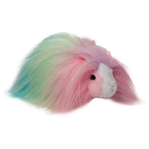 Douglas Cheesecake Rainbow Guinea Pig Fuzzle Plush Stuffed Animal
