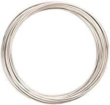 Memory Wire Bracelet Silver Plated Steel Wire 50mm Round sold per30g/42 loops/pack (2pack bundle),