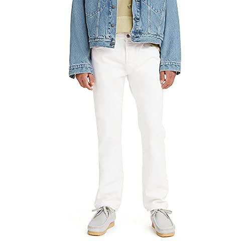 Levi's 501 Original Fit Jeans Vaqueros, Optic White, 38W / 34L para Hombre