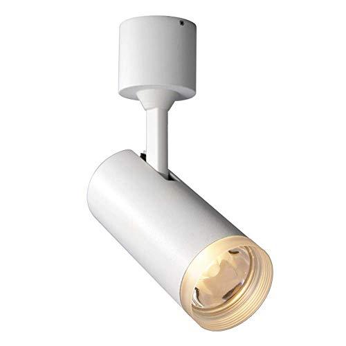 Skingk COB 9W Warmes Licht 3000k Spotlight LED Wandhalterung Spotlight Nordic Simple Hintergrund Wandschienenlicht Fotografie Gang 玄 Deckenleuchte Neutrales Licht 4500K
