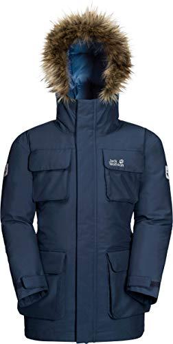 Jack Wolfskin Unisex Ice Explorer Jacket Kinder Jacke XX-Small Dunkles Indigoblau