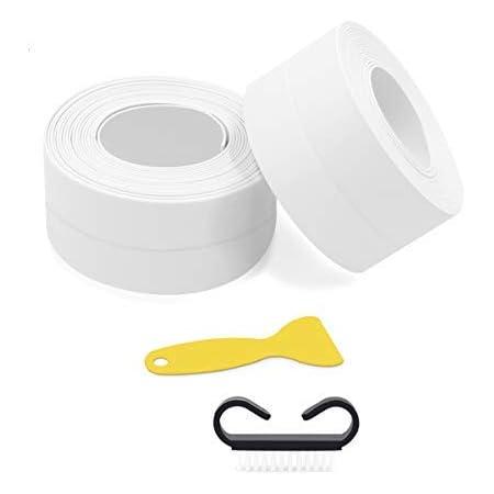 Clear Waterproof Kitchen Bathroom Adhesive Sealing Tape Sink Caulk Strip Corner