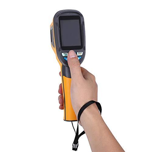 【𝐕𝐞𝐧𝐭𝐚 𝐏𝐫𝐢𝐦𝐚𝒗𝐞𝐫𝐚】Cámara termográfica infrarroja con resolución IR HT-02D 32x32, cámara portátil de imágenes térmicas 1024P, termómetro infrarrojo con pantalla a color de 2.4'