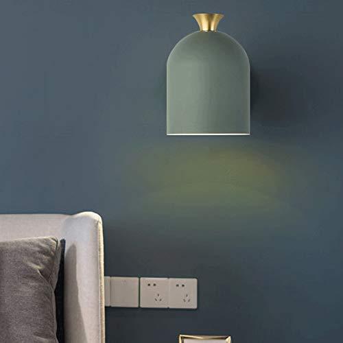 Lámpara de Pared con Iluminación Decorativa Ajustable LED de Pared Moderno de Lectura lámpara de Pared de Pared Simple luz del proyector, Adecuado for familias y Hoteles (Color : D)