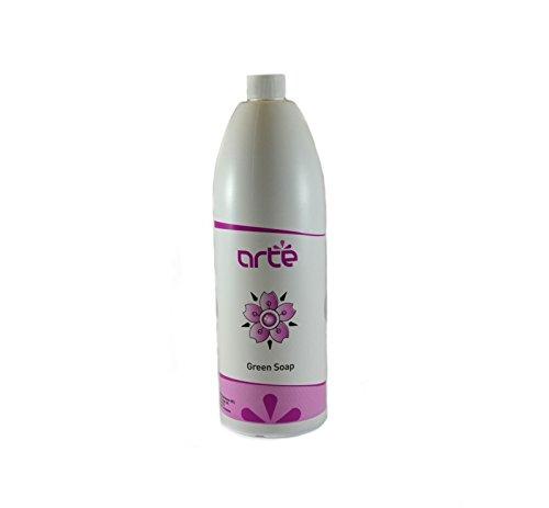 Green Soap Arté 1000 ml milde Flüssigseife zur Reinigung vor und nach dem Tätowieren