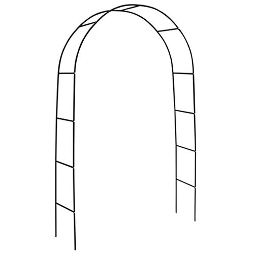 Arbours Garden arched flower stand, metal steel garden rose arch, used for garden hotel, terrace, climbing plants, outdoor decorative pergola