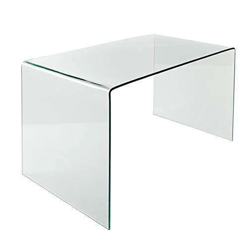 Glas Esstisch Fantome Transparent Schreibtisch Ganzglastisch Glastisch Tisch