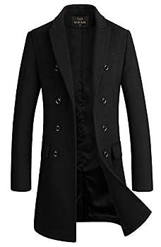 Best mens long pea coat Reviews