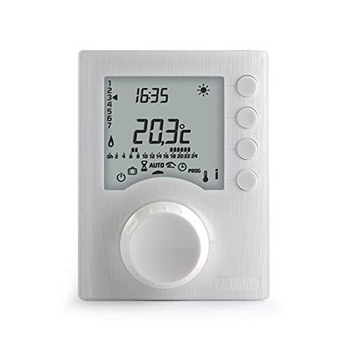 Delta Dore 6053005 Termostato Programab Tybox 117, Blanco, Talla Única