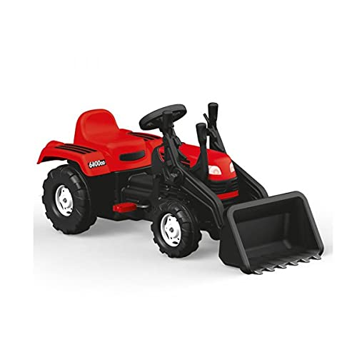 Dolu Ranchero Kids Pedal Tractor w/Excavadora Scoop