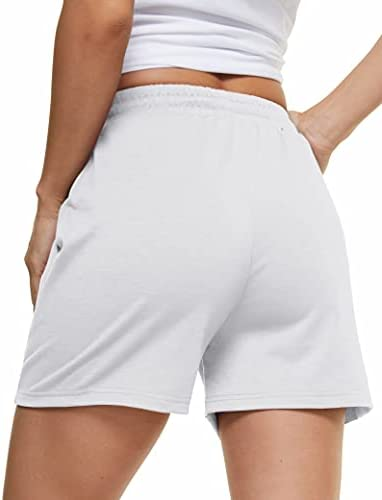 MAGCOMSEN Women's Running Jogger Shorts Gym Workout Quick Dry Relaxed Fit Casual Shorts Summer Beach Shorts with 2 Pockets