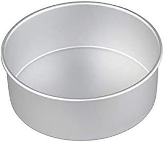 Ravi Bakeware Aluminium Round Cake Pan Tin Mould 7-inches x 3 Inches Height