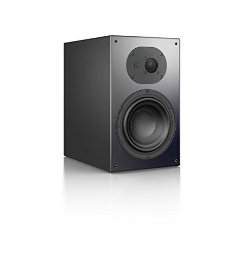 Nubert nuLine 34 Regallautsprecher | Lautsprecher für Stereo | Heimkino & HiFi Qualität auf hohem Niveau | Passive Regalbox mit 2 Wege Technik Made in Germany | Kompaktlautsprecher Schwarz | 1 Stück