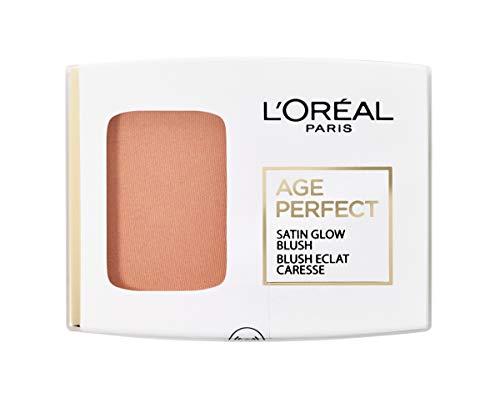 L'Oréal Paris Age Perfect Satin seidiges Puder-Rouge in Nr. 110 aprikot/peach, für eine...